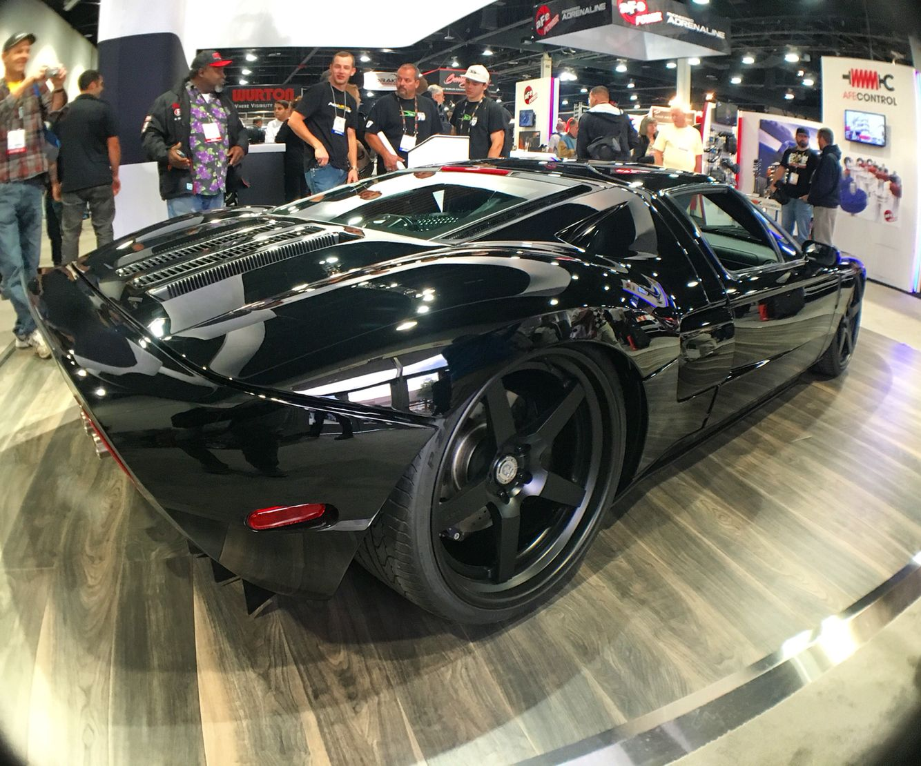 Ford GT looking sinister. #allblackeverything   www.squidc.am #squidcam #amazon #ford