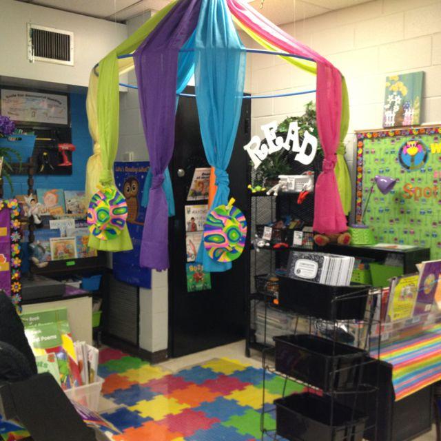 Decorate Small Reading Area: Education - Classroom Deco