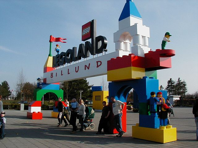 Legoland Deutschland, located near Ulm in the southwest part of the country