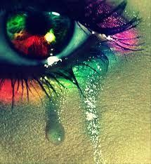 Tristeza expresada en colores