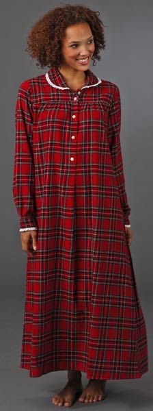 lanz classic flannel nightgown $48 | christmas | Flannel ...