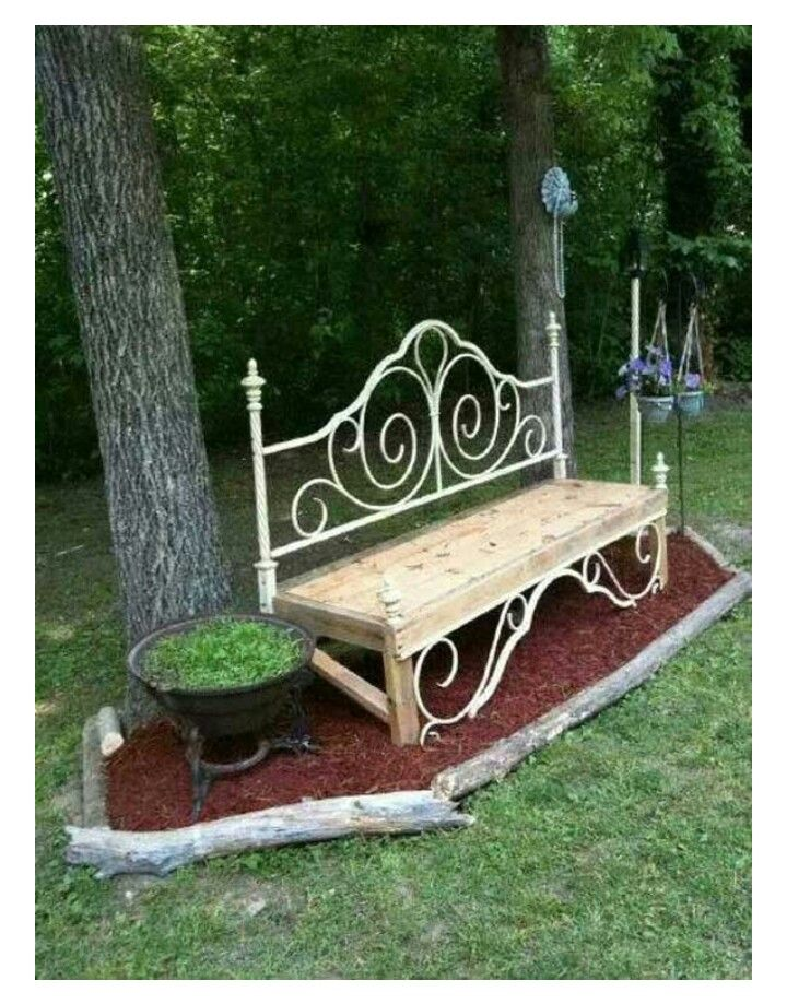 Swell Bed Frame Outdoor Bench Re Purpose Principle Backyard Ocoug Best Dining Table And Chair Ideas Images Ocougorg