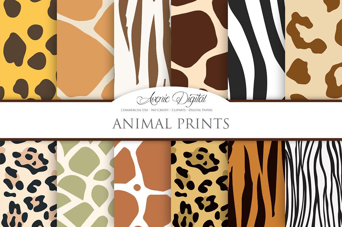 35+ Jungle Animal Skin Clipart