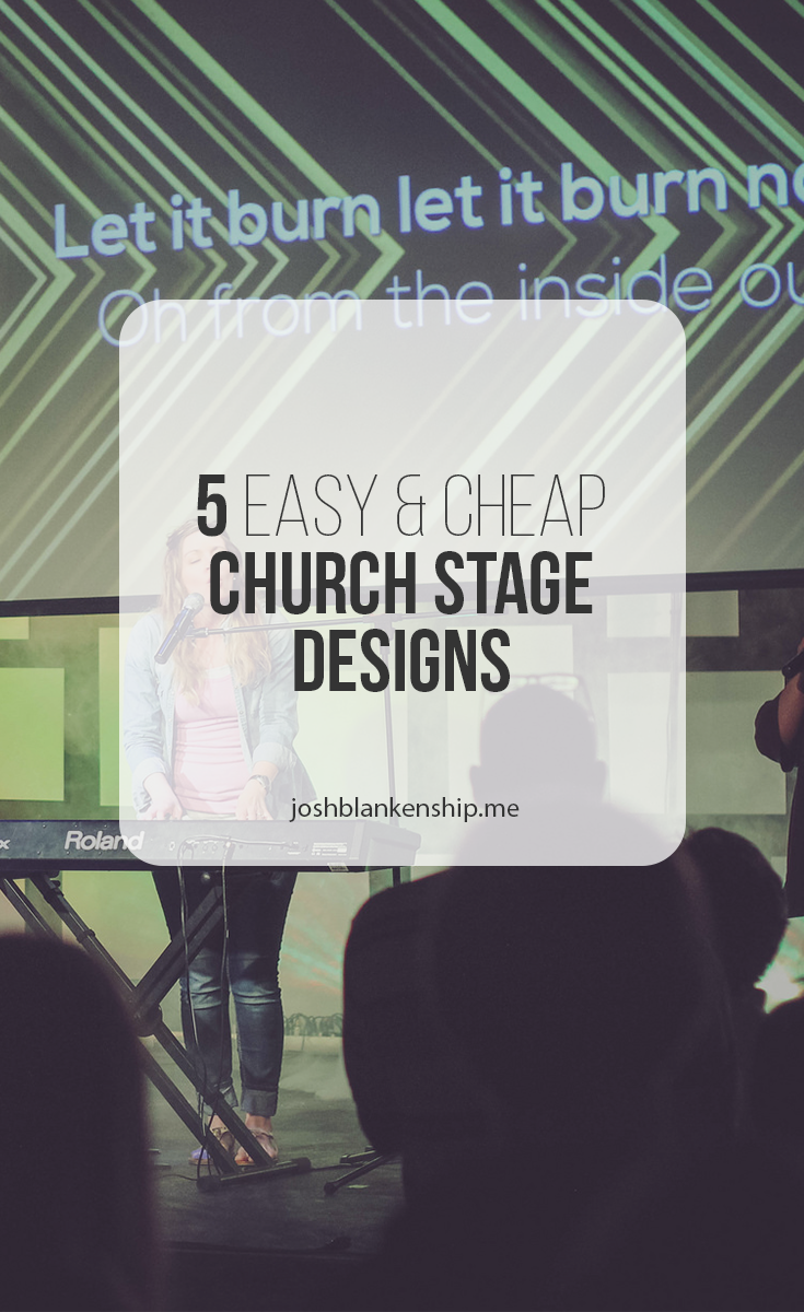 5 More Simple And Cheap Church Stage Designs | Church Media ...