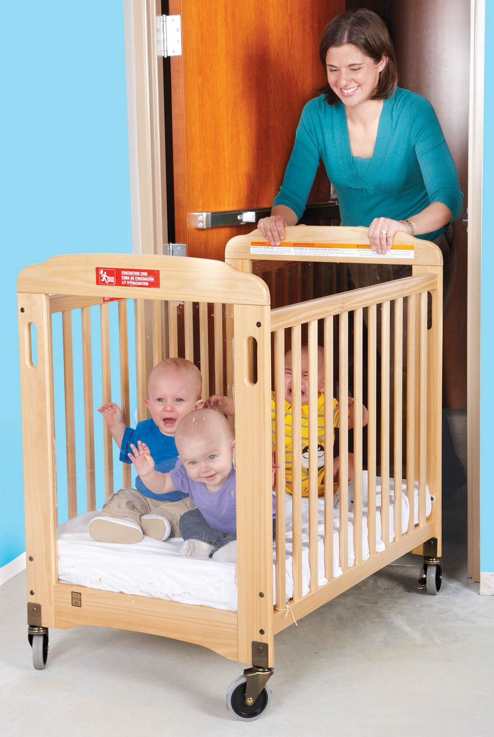 Evacuation Crib Play With A Purpose Cribs Childcare Center