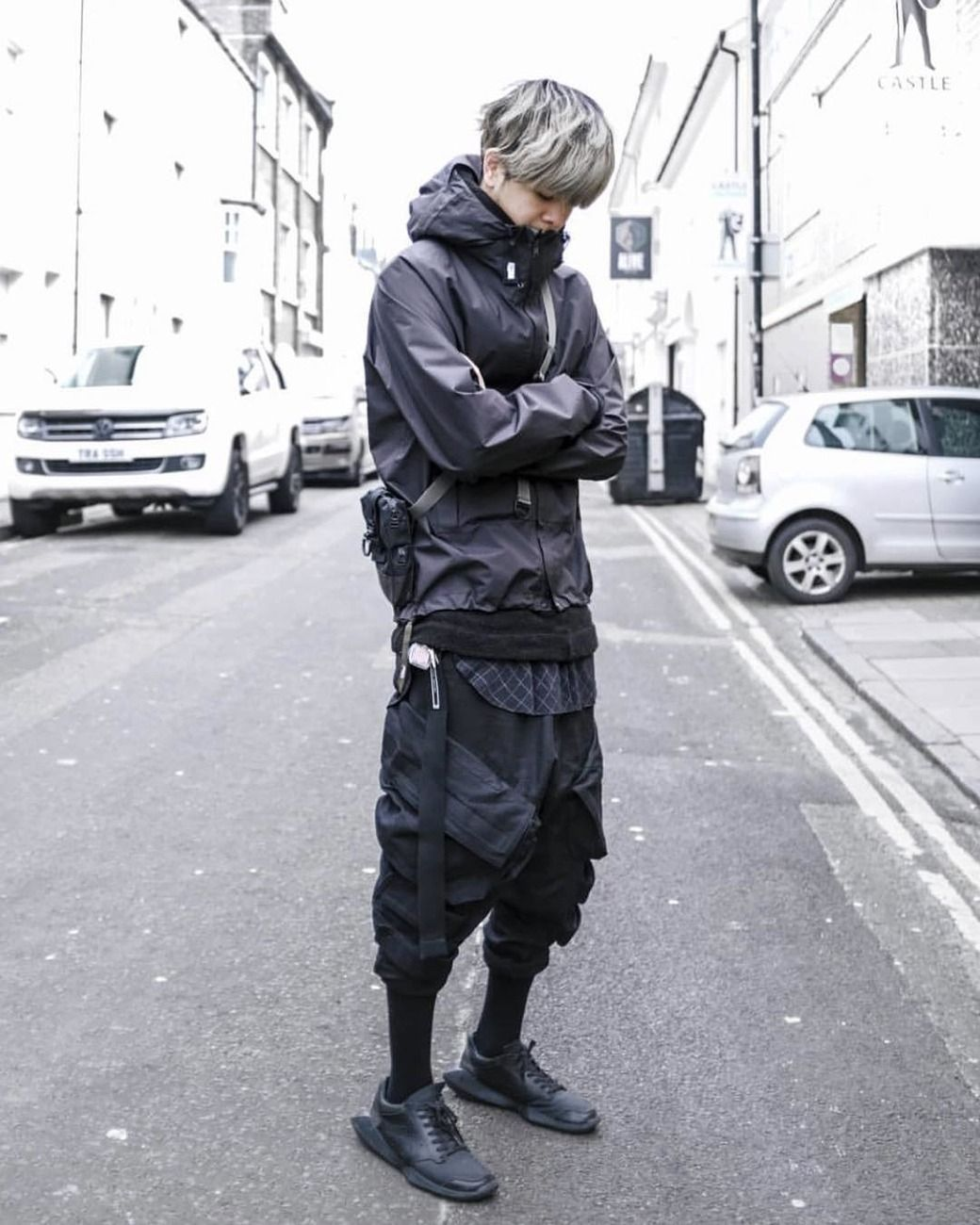 Jay El GoCrow Futuristic fashion, Urban fashion, Fashion