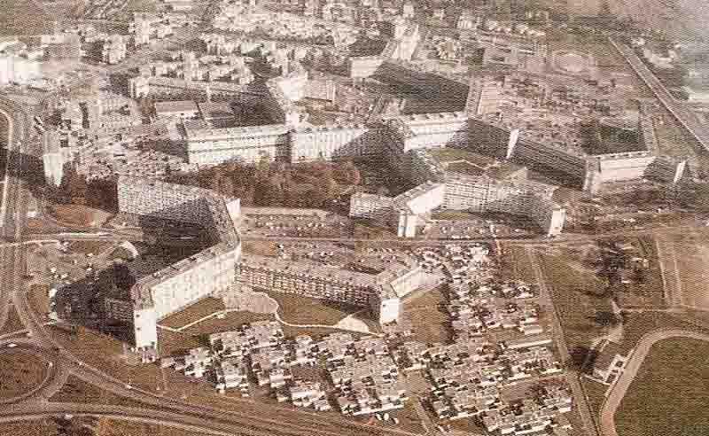 Le Mirail Toulouse Architecture Urban Patterns
