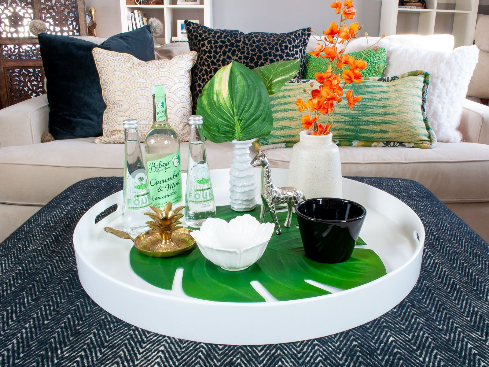 42++ White coffee table tray decor inspirations