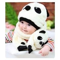 I think you'll like Hot Toddler Infant Unisex Girl Boy Baby Hat Cap Beanie + Scarf Panda Cartoon two piece set VVF. Add it to your wishlist!  http://www.wish.com/mama/m/c/5397fe56b9ee8450d541a393