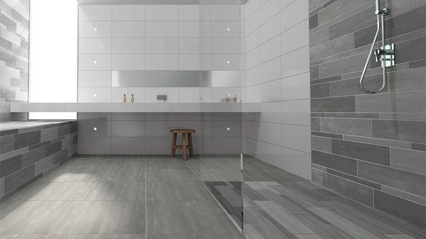 Geweldige badkamer inloopdouche google zoeken badkamer pinterest search - Eigentijdse badkamer grijs ...