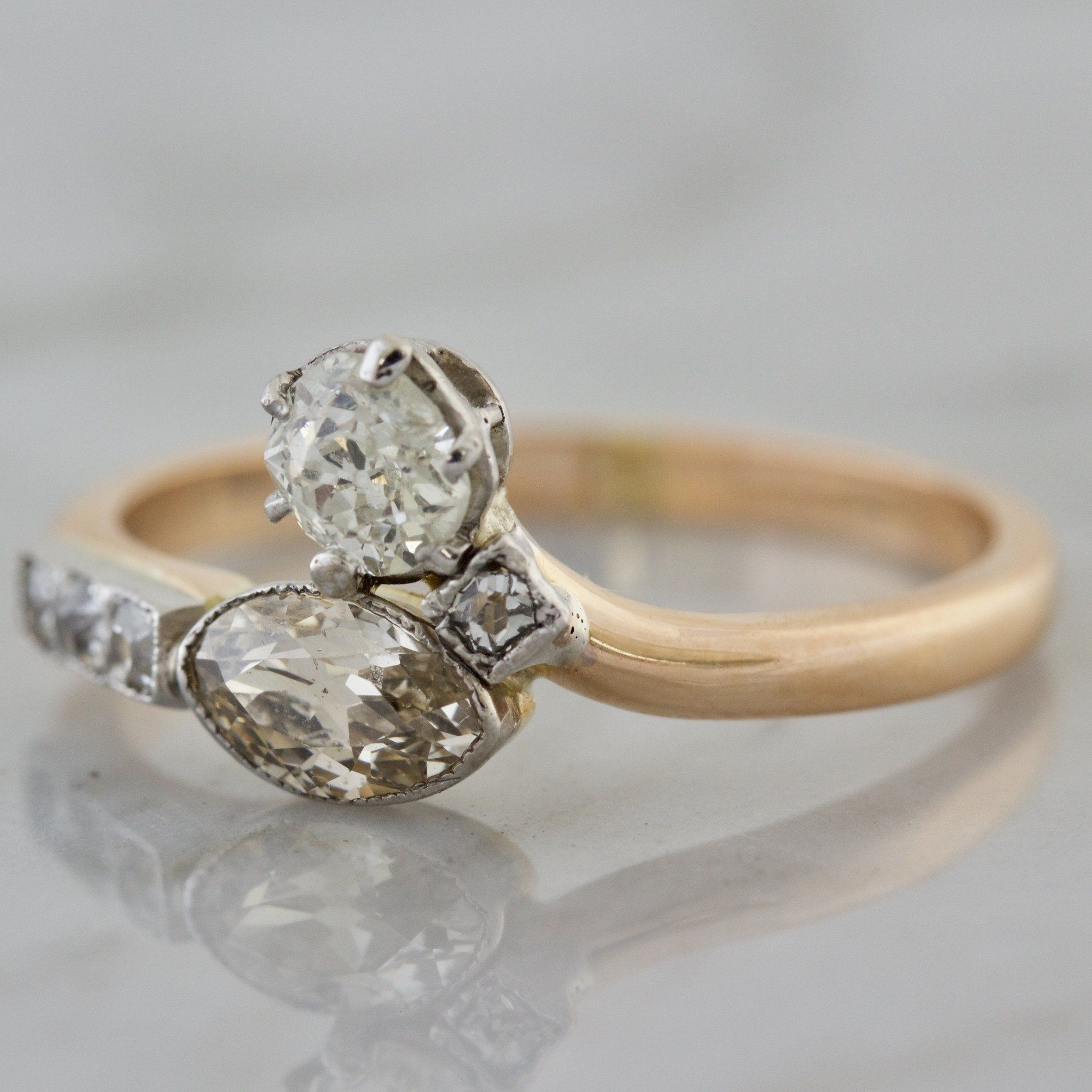 west pin diamond east cut engagement oval ring rings