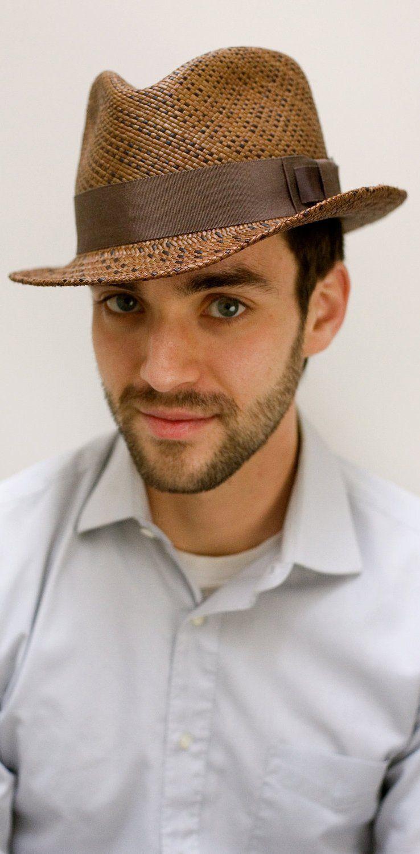 e8d9b2589c1d3 Men s hat. Men s hat Straw Fedora ...