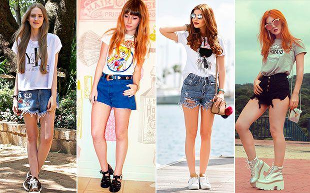Como usar: 40 ideias de looks estilosos com camiseta - Moda - CAPRICHO