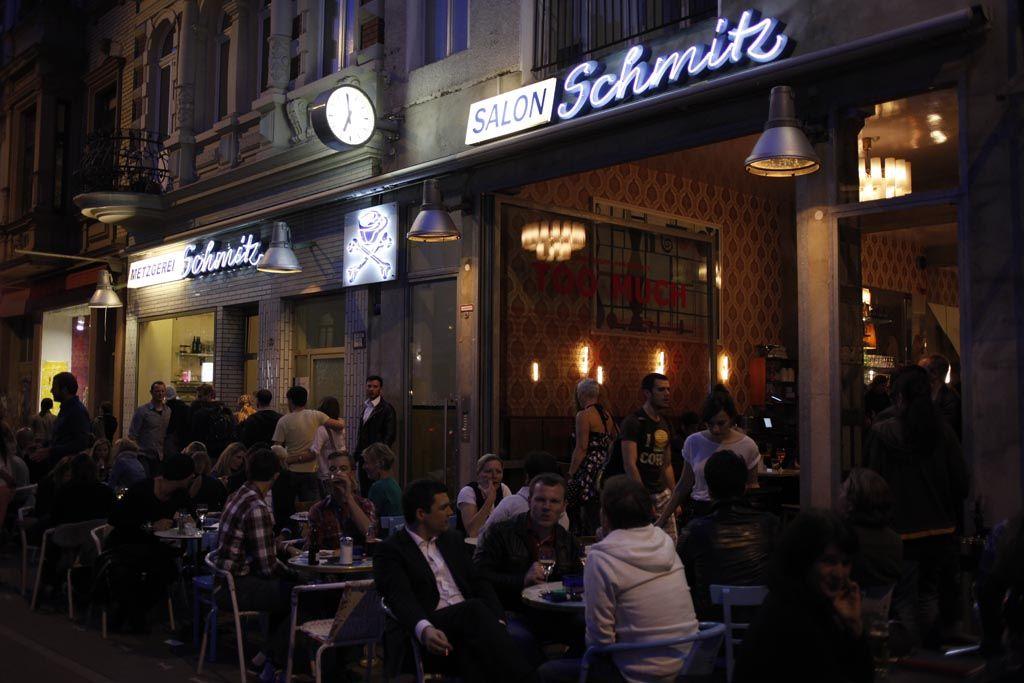 schmitz bar metzgerei salon club fr hst ck. Black Bedroom Furniture Sets. Home Design Ideas