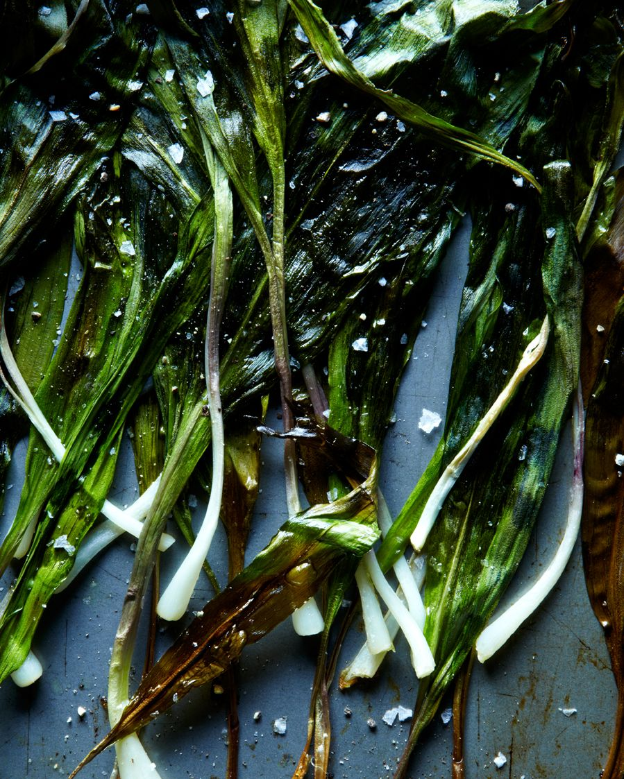 hungry ghost food + travel   nettle and ramp butter