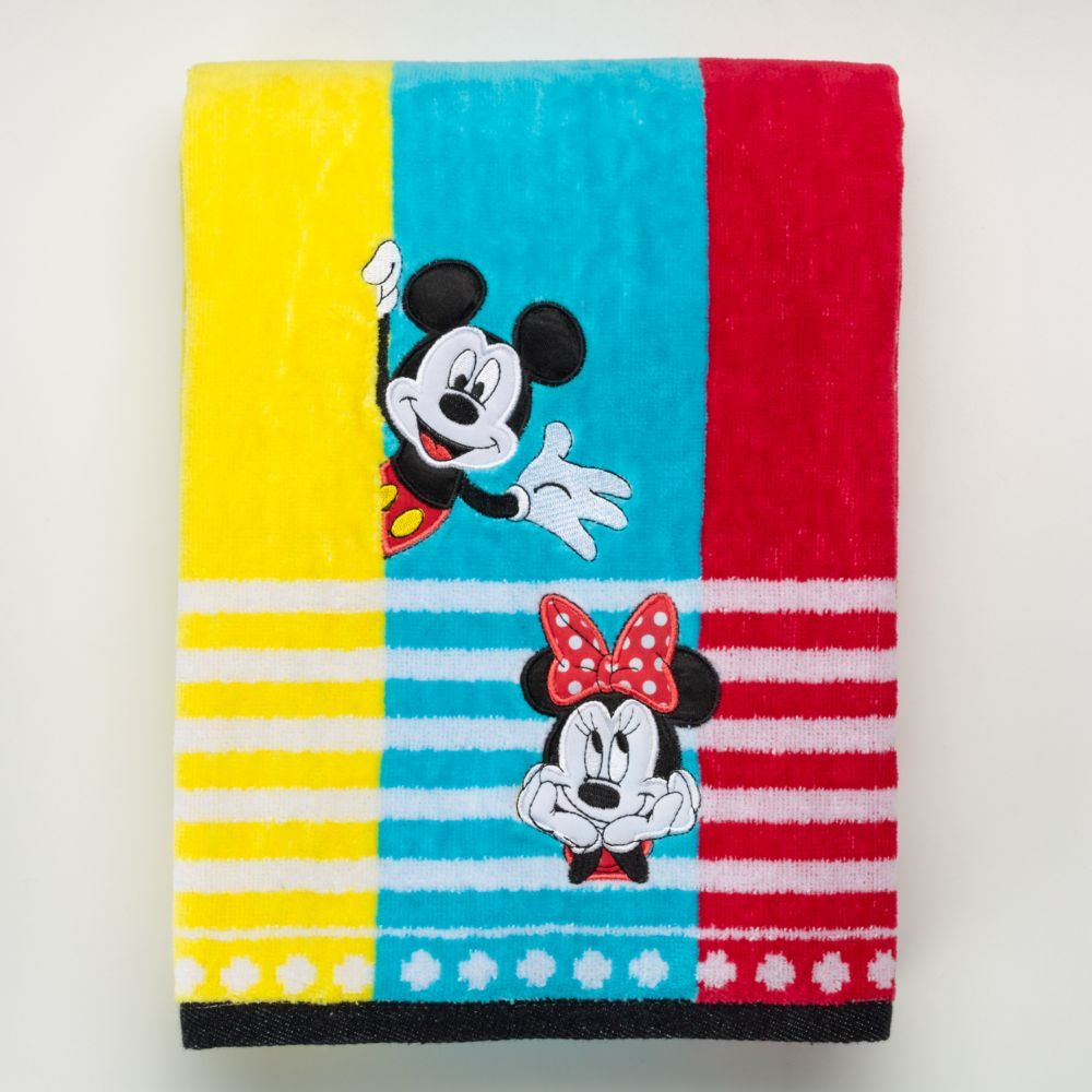 Disney' Minnie & Mickey Mouse Shower Curtain Collection