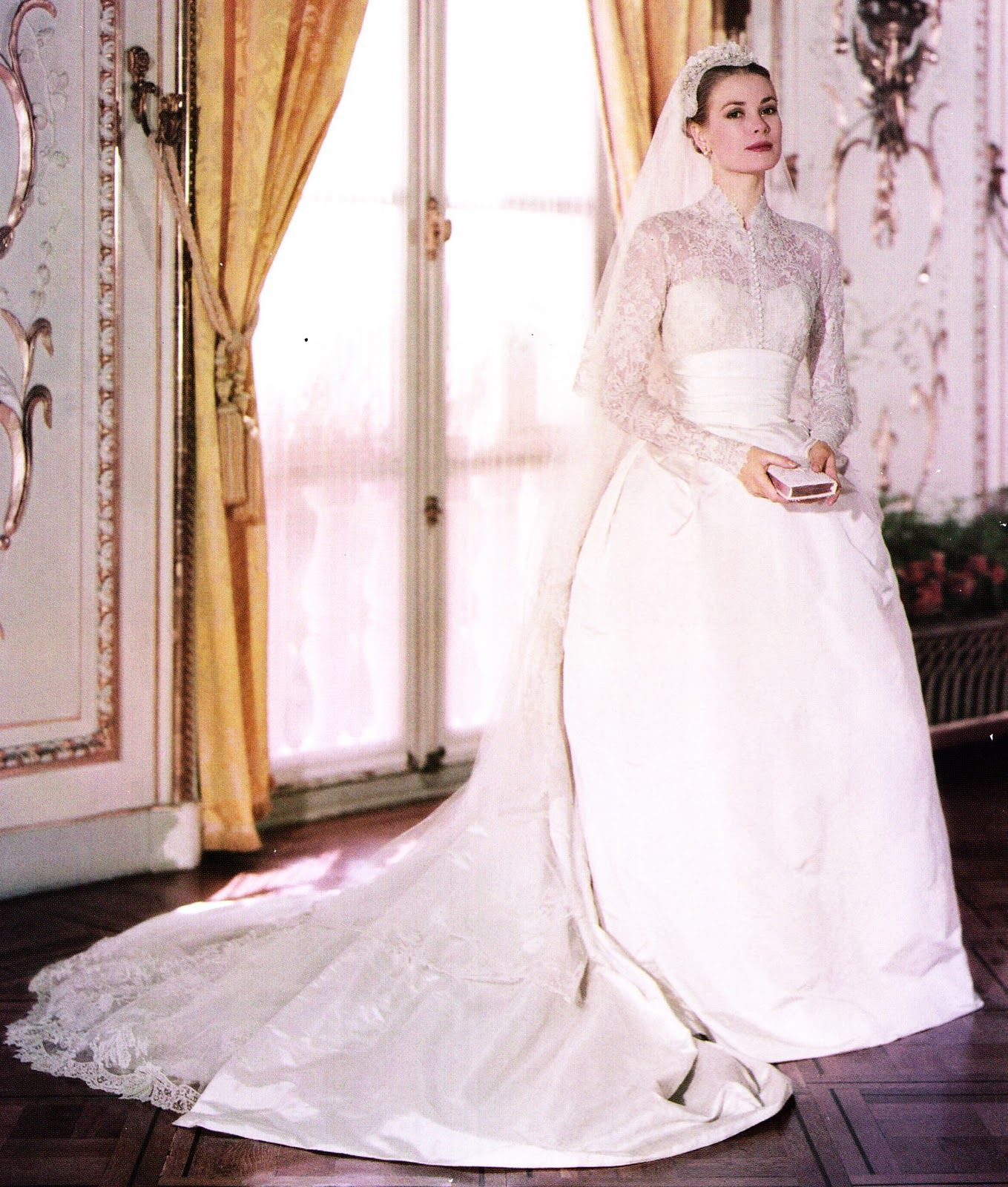 Grace Kelly Bridal Portrait Grace Kelly Wedding Dress Expensive