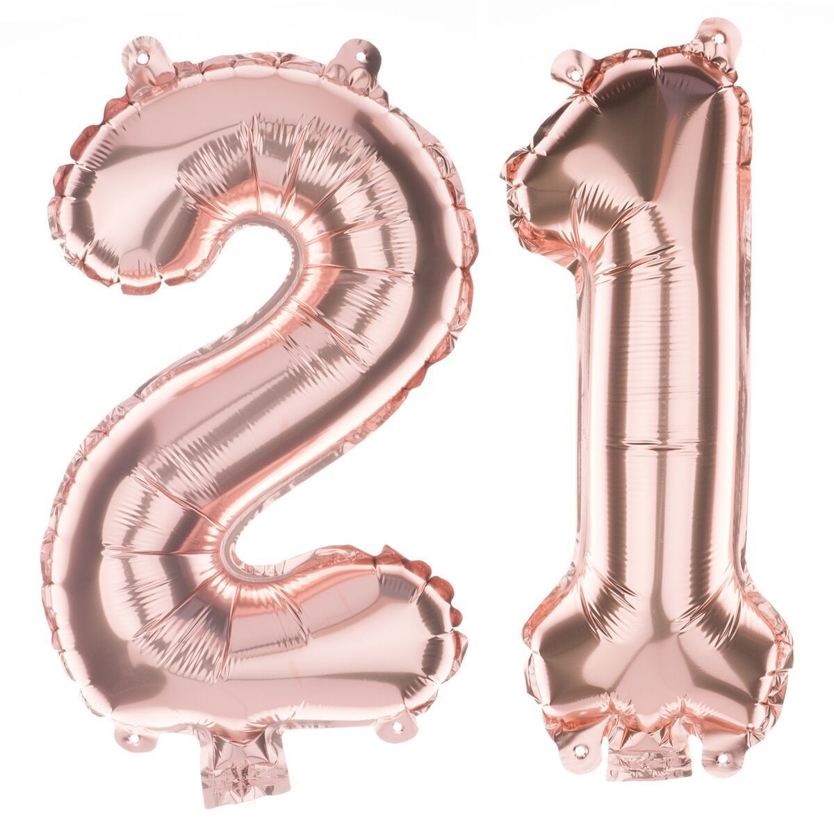 21 Non Floating Number Balloons