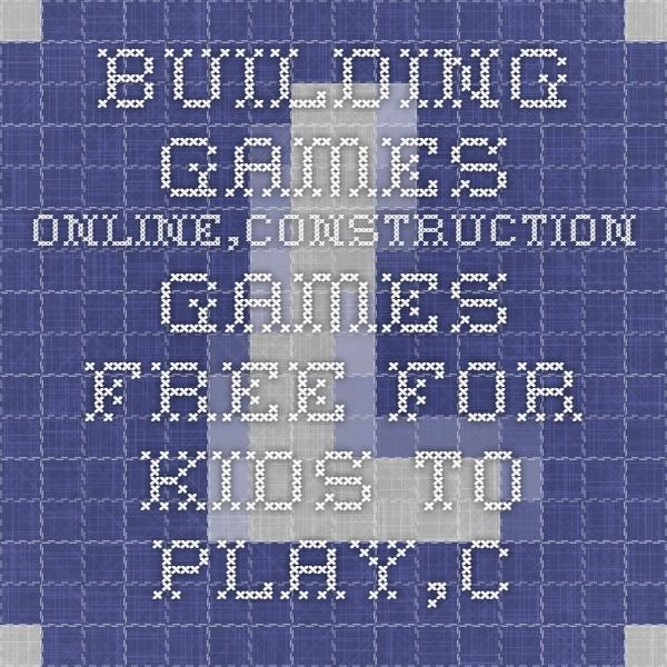 Marvelous Building Games Online, Construction Games Free For Kids To Play: Bridge Building  Games Online, City Building Games, House Construction Game, Online Tower