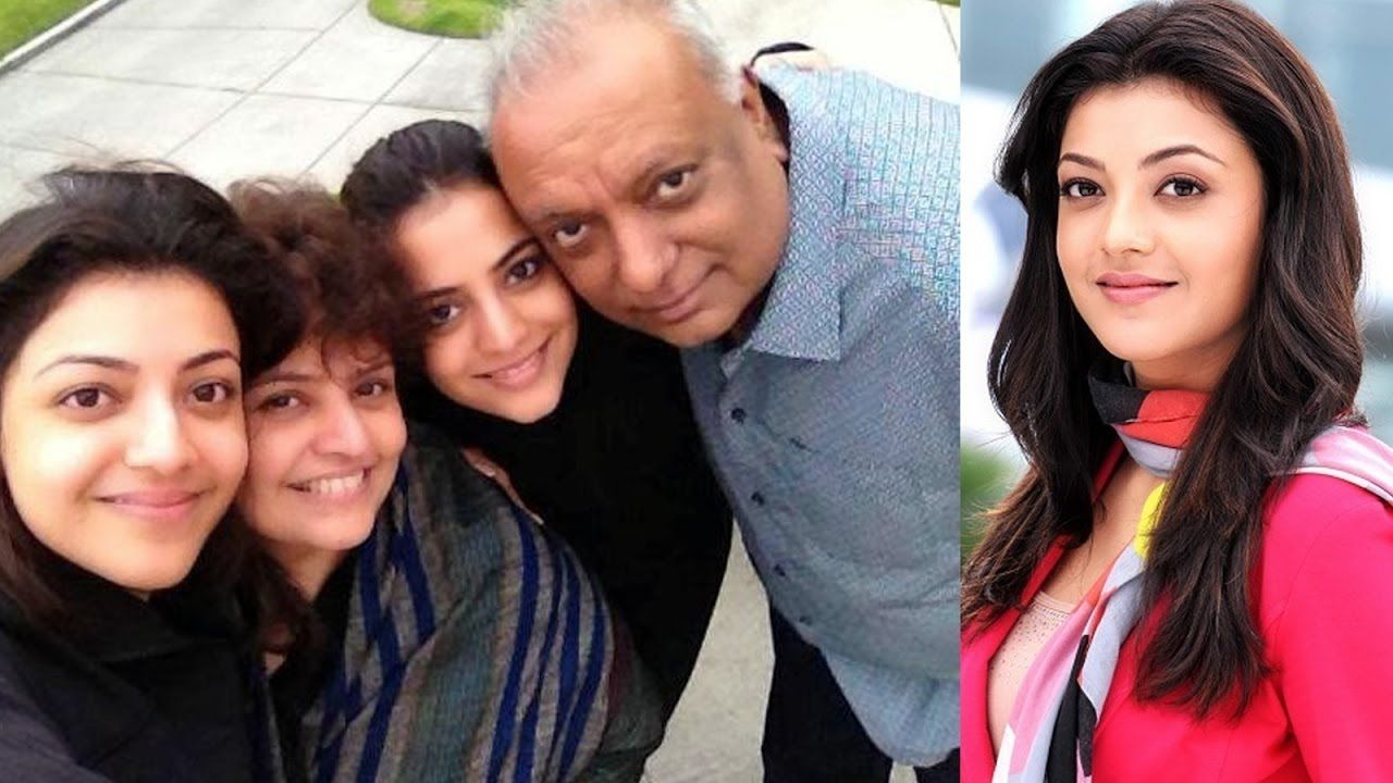 Actress Kajal Agarwal And Sister Nisha Agarwal S Father Vinay Agarwal Family Photos Youtube Coconut Oil Beauty
