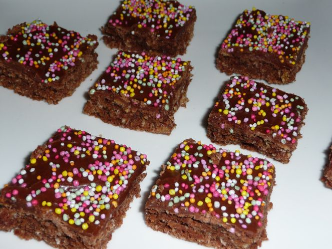 Chocolate Weetbix Slice - Don't tell them it's healthy!
