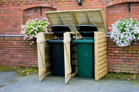 camoufler les poubelles avec ouverture par le haut et syst me pour ouvrir en m me temps les. Black Bedroom Furniture Sets. Home Design Ideas