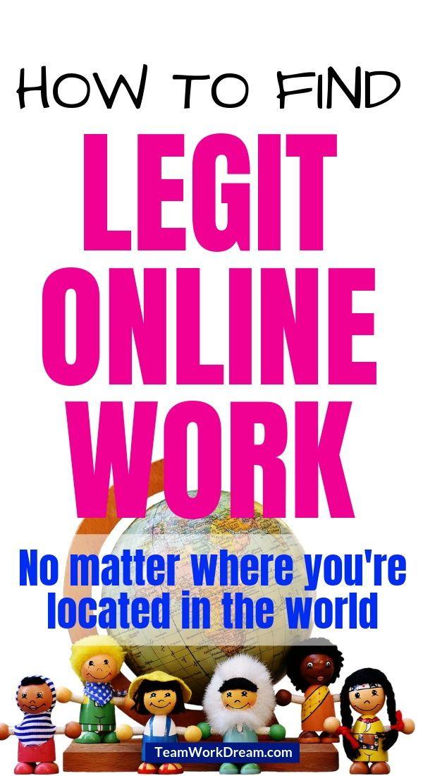 Where Can I Easily Find An International Online Job Legit