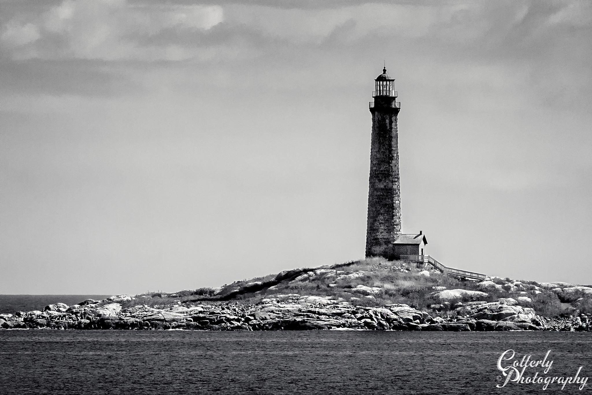 Thatcher Island North Light near Rockport, Massachusetts by Wayne Cotterly photography