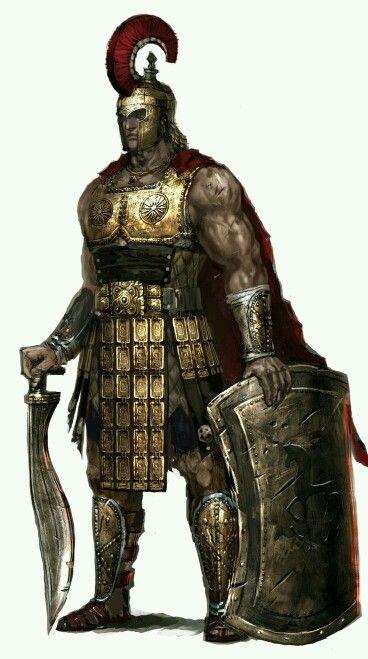 Hector Tcc Greek Warrior Warrior Fantasy Warrior