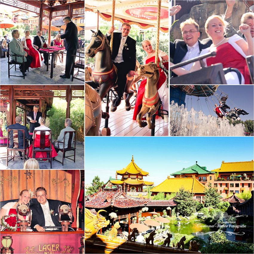 Phantasialand Germany Wedding Wedding Locations Photo