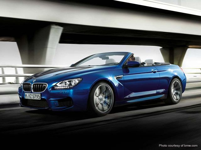 The BMW M6 Cabrio Rental Is The Most Popular Version Of The BMW 6 Series  Models