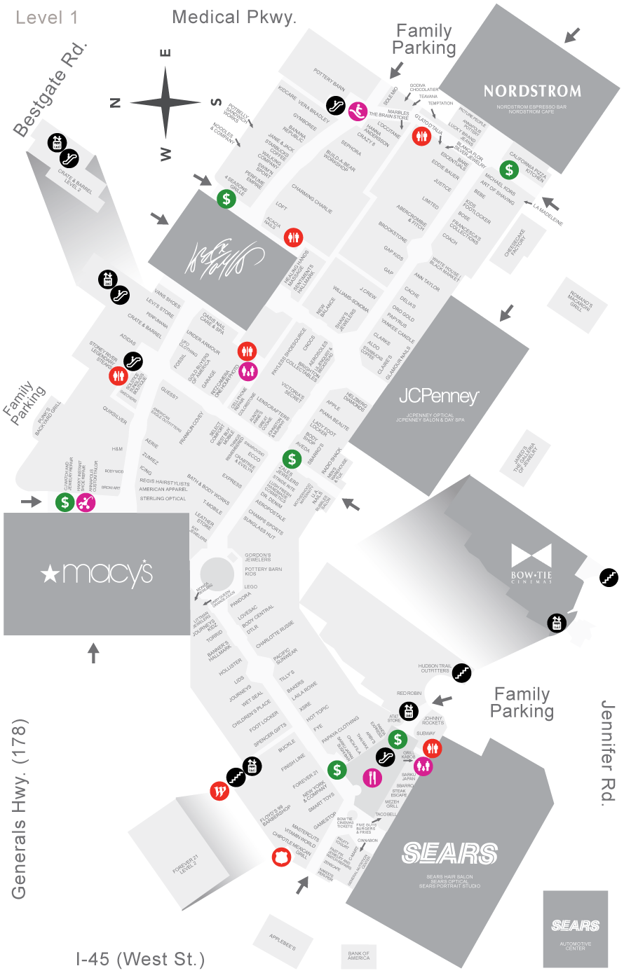 Annapolis Mall Map Westfield Annapolis Mall Map | Wayfinding | Map, Map design, Mall Annapolis Mall Map