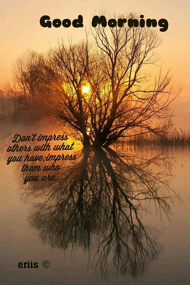 Good Morning Beautiful Nature Divine Nature Sunrise