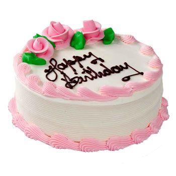 Strawberry Cake Half Kg Strawberry Cake Waiting To Blossom With Gentle Swirls Of Strawberry Cr Send Birthday Cake Birthday Cake Pictures Happy Birthday Cakes