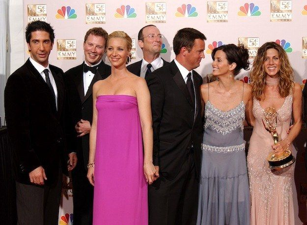 Friends characters dating in real life