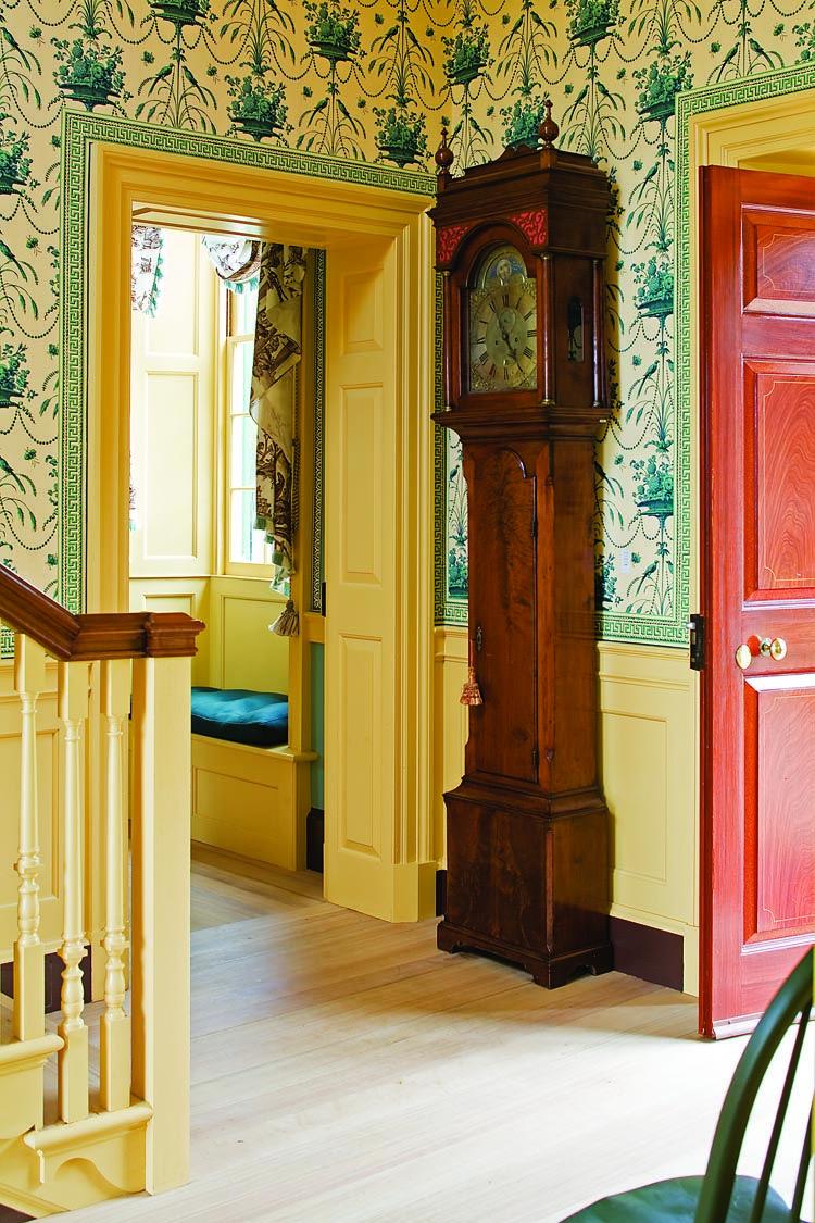 Adelphi Wallpaper Mcgrath Ii Blog Foyer Design Block Print Wallpaper Adelphi