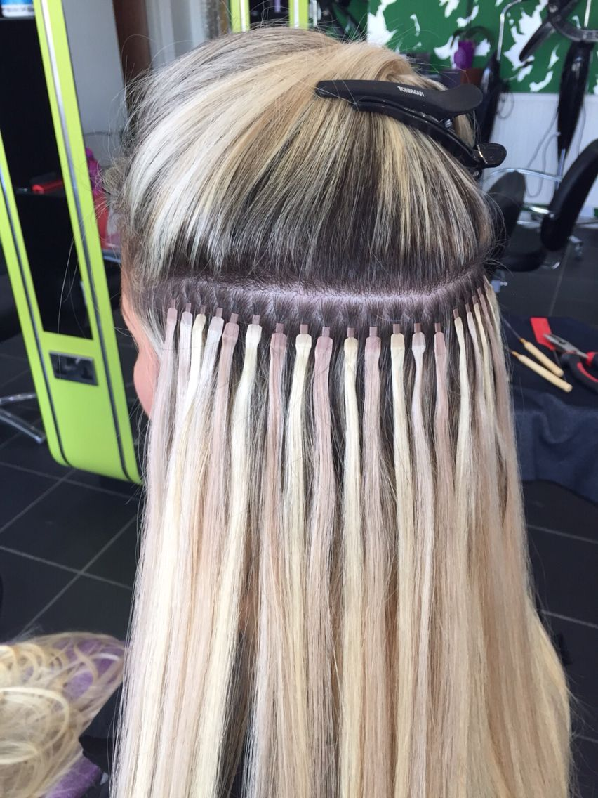 Flattest Tips On The Market Hair Extensions Done By Kiri Mint