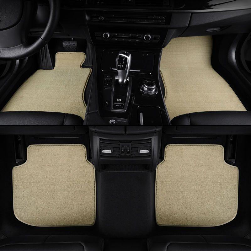 Car floor mats for Hyundai ix25 ix35 SantaFe Sonata kia sorento