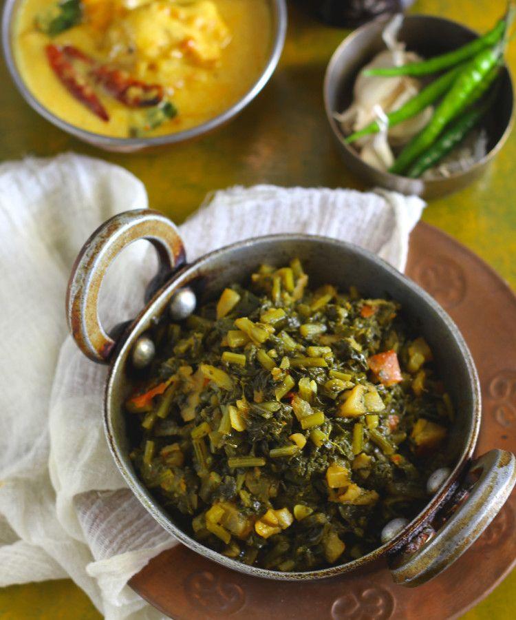 Mooli ke patton ka saag recipe indian vegetarian recipes saag mooli ke patton ka saag indian vegetarian recipesindian forumfinder Images