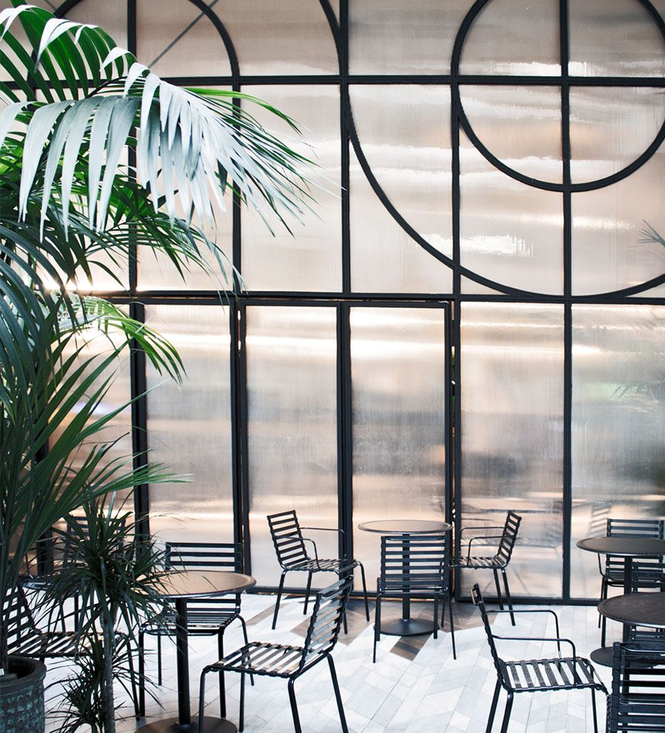 Panorámica diseño terraza Poppyns Café | Terrace design