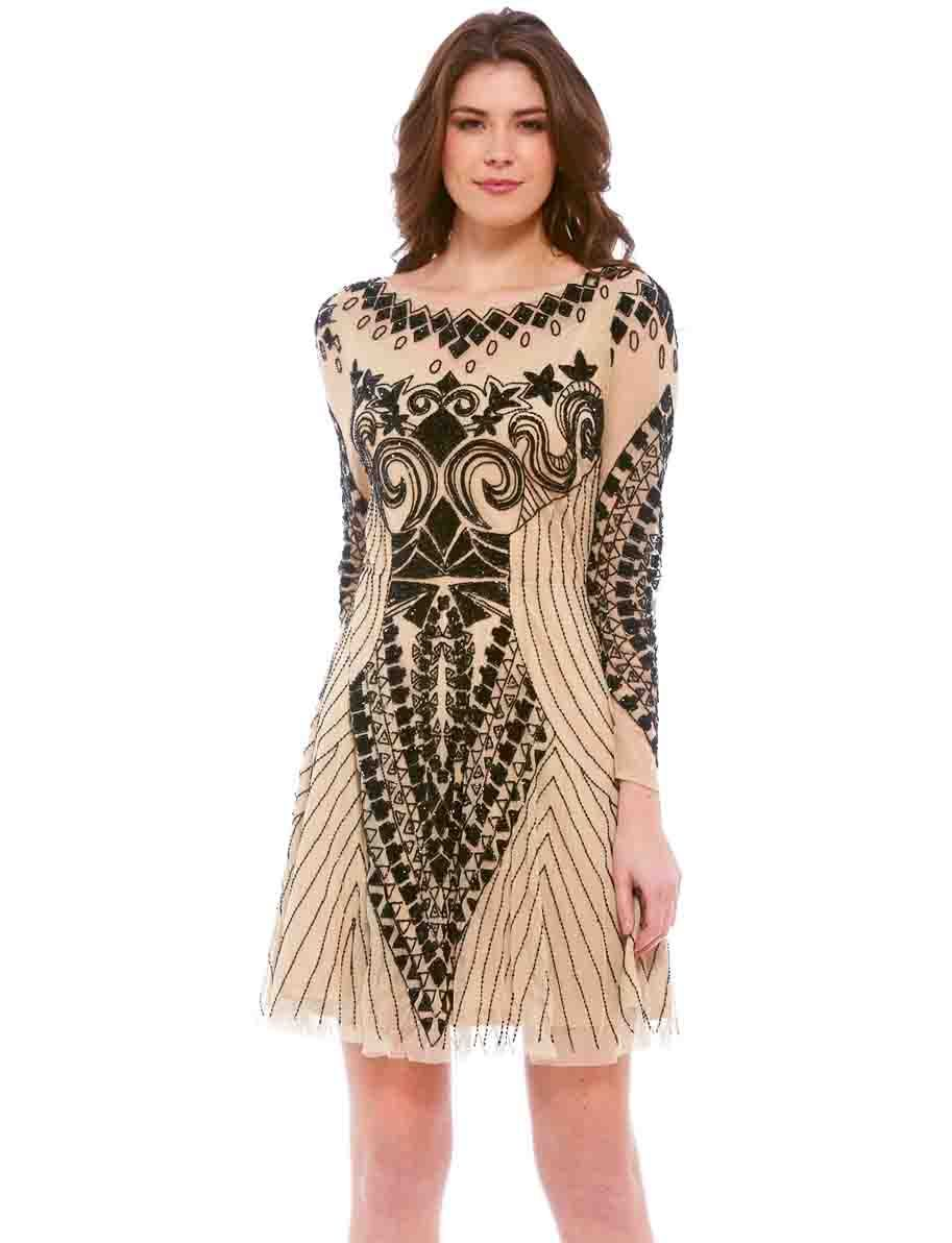 Frock and frill evening dresses party dresses fashion