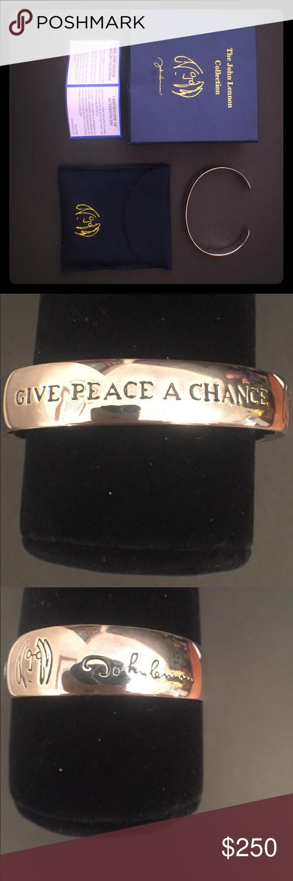 Sterling Silver John Lennon Collection Bracelet Sterling Silver Lennon John Lennon