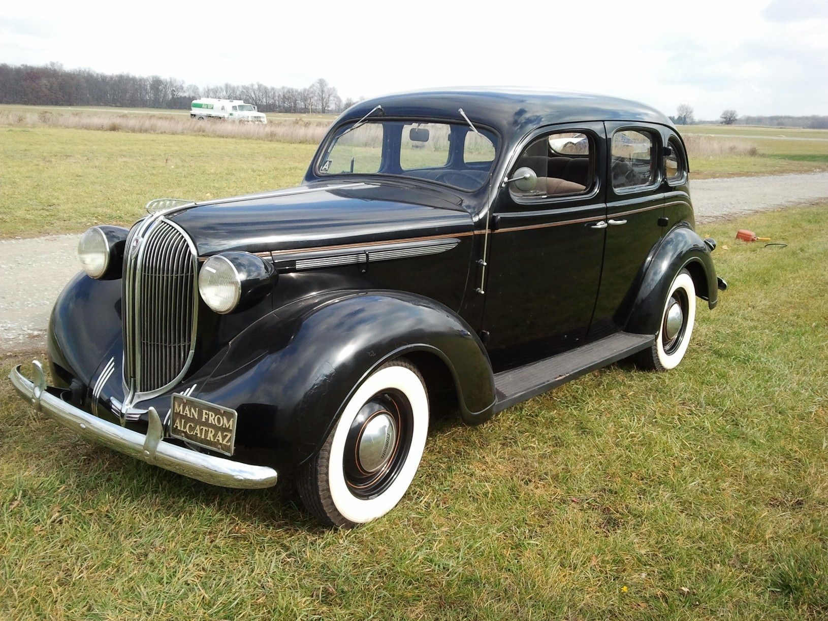 1938 Plymouth P6 Deluxe Four Door Touring Sedan This Is A Super
