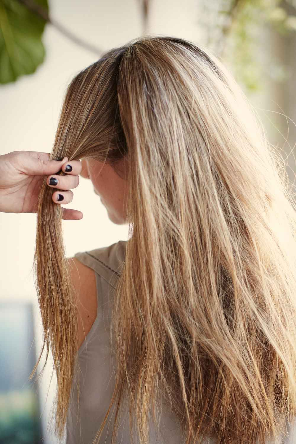 Dirty messy hair easy styling tips well done pinterest
