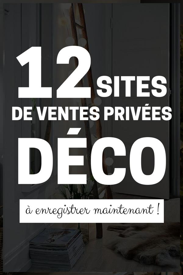 ventes priv es meubles d co 10 sites conna tre en. Black Bedroom Furniture Sets. Home Design Ideas