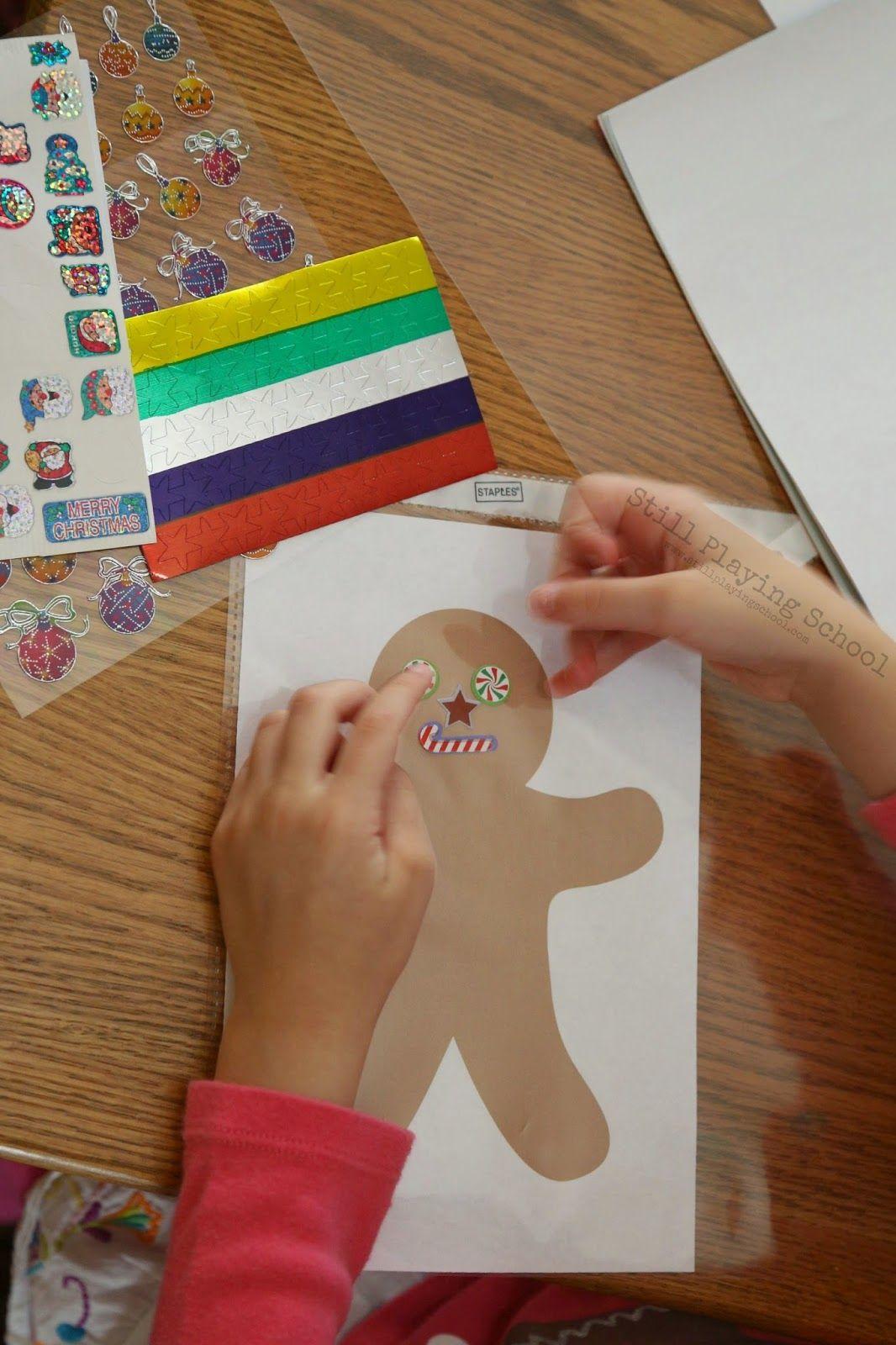 http://www.stillplayingschool.com/2014/11/reusable-christmas-sticker-busy-bags.html