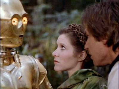 Image result for han solo endor c-3po