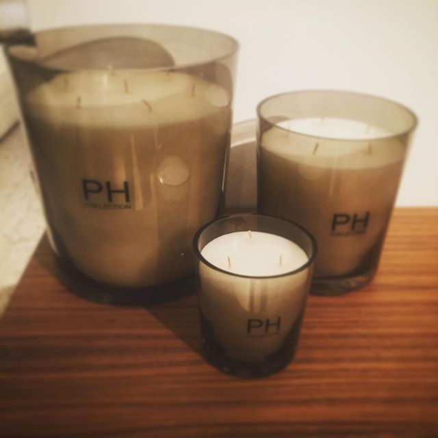 Gorgeous candles from #phcollection #candles #homesweethome #homeaccessories #interiors