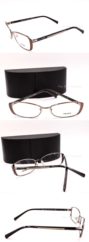 e6fbed660f Eyeglass Frames  Prada Vpr 58O Iao-1O1 Eyeglasses Optical Frames Glasses  Bronze And Brown