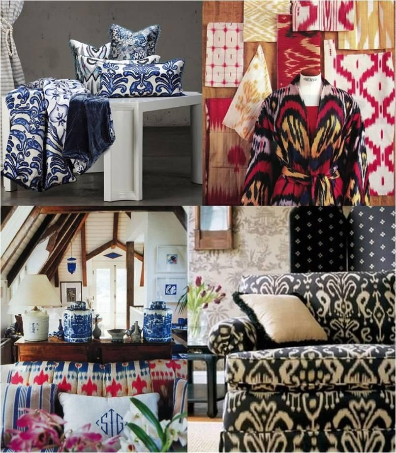 Motivos étnicos con aires renovados. Estampados y tejidos de tradición ancestral que dan encanto y... pinned with Pinvolve